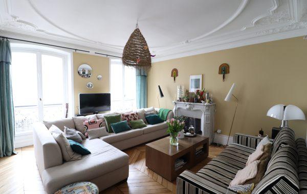 Appartement 4 pièces rue Legendre Paris 17